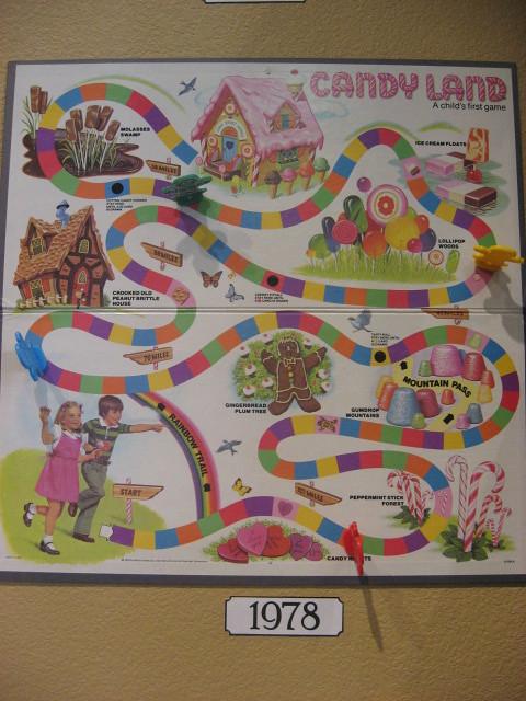 candy land board -- 1978