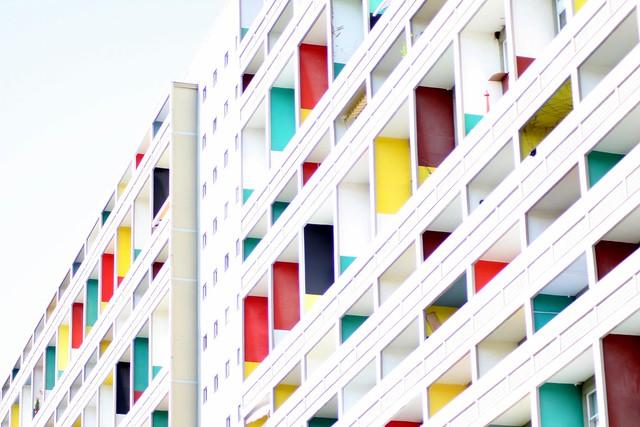 Unit d 39 habitation de le corbusier a photo on flickriver - Unite d habitation dimensions ...