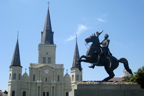 New Orleans - French Quarter: Jackson Square and St. Louis Cathedral
