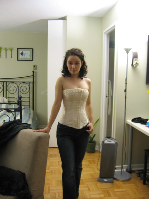 Corset with Jeans   Flickr - Photo Sharing!  Corset with Jea...
