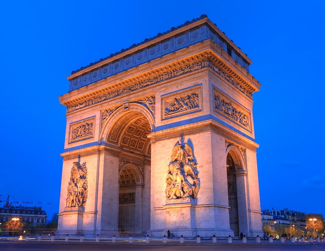 Arc De Triomphe (Paris) in 1000 MegaPixels (Zoom in)