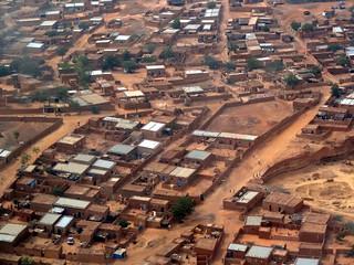Saga Kourtey - Niamey from the sky