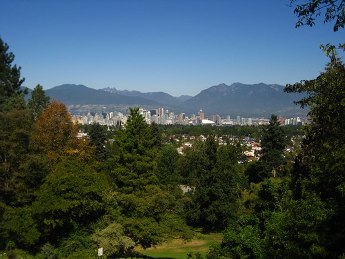Vancouver Skyline from Queen Elizabeth Park