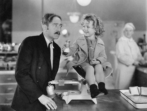 Shirley Temple & Adolphe Menjou