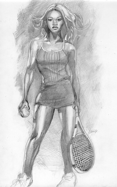 venus serena williams coloring pages | Board art, Illustrations and Art on Pinterest