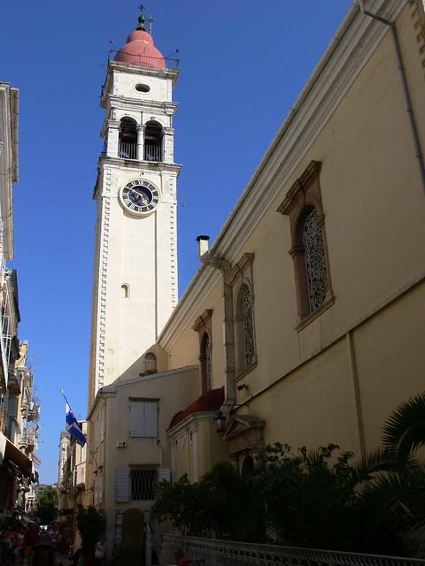 Szt. Szpiridon templom Korfuban / Church of St. Spyridon ...