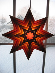 star and snow