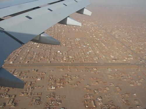 Flying Over Khartoum