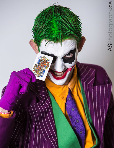 Joker at March Toronto Comic Con 2014 by andreas_schneider