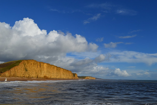 a picture of west bay broadchurch dorset