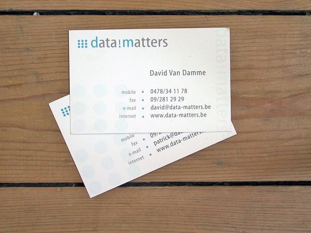 Business Cards Data Matters