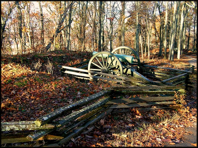Kennesaw Battlefield Confederate Canon