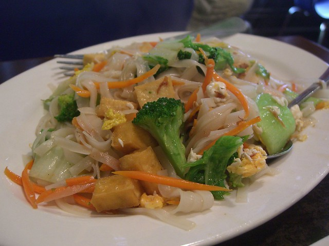 Vegetable Pad Thai - Derby Thai | Flickr - Photo Sharing!