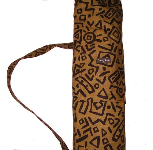 Yoga Mat Bag - Indonesian Funky