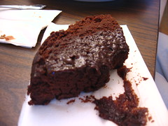 german chocolate cake(0.0), sachertorte(0.0), cake(1.0), chocolate cake(1.0), torta caprese(1.0), baked goods(1.0), flourless chocolate cake(1.0), food(1.0), dish(1.0), chocolate brownie(1.0), dessert(1.0), chocolate(1.0),