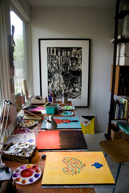 Home Office Art Studio Inspiration A Gallery On Flickr