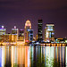 Louisville@Night by DAW Studio Inc.