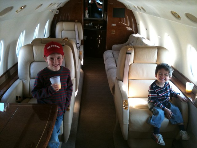 Private Jet Inside With People  Wwwimgarcade  Online Image Arcade