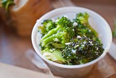Broccoli Chervil Salad