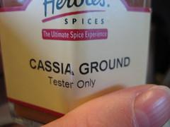 Regency Spices: Cassia Ground