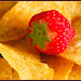 Strawberry & Chips - Tesco art