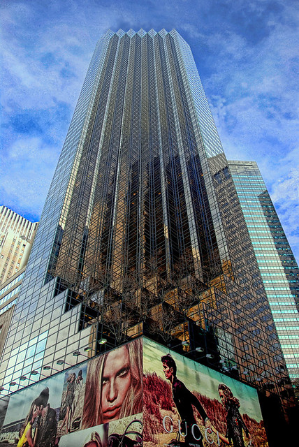 New York The Trump Tower Continue My Series Of Great