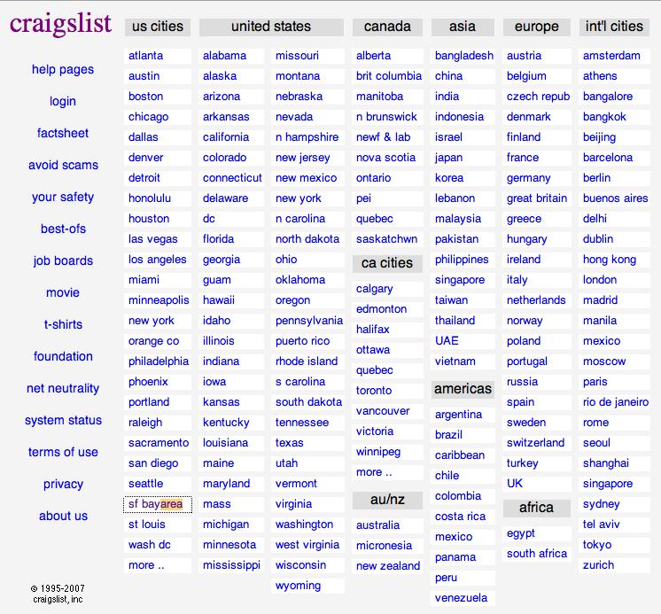 Craigslist Where You At Flickr Photo Sharing