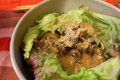meal, lunch, salad, vegetable, food, dish, cuisine, caesar salad,