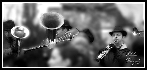 people bw white black hat band andreas greece macedonia thessaloniki tuba sax brass clarinet salonica kastoria ελλάδα trumbet zervas θεσσαλονίκη ysplix ragoutsaria andzer ζέρβασ ανδρέασ