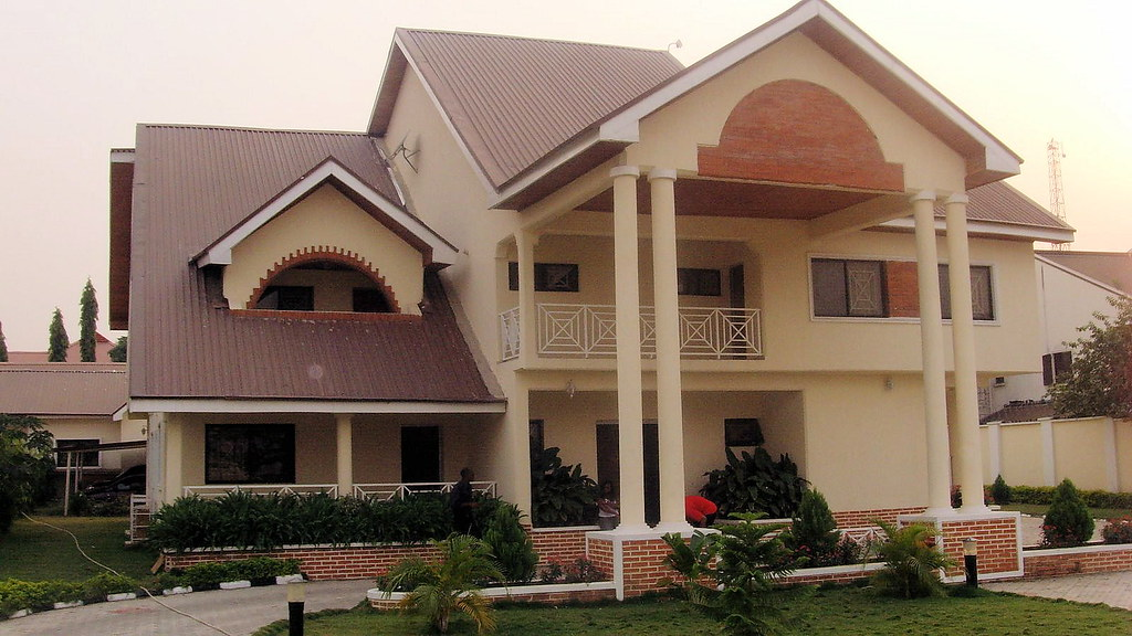 Mansions in nigeria pics you can post more pictures for Some beautiful houses