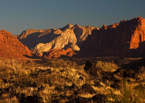 Snow Canyon - seen from Chaco Bench