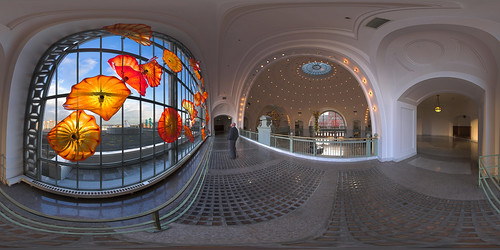 panorama washington tacoma unionstation dalechihuly equirectangular akameus perfectpanoramas randykosek vrpanorama monarchwindow copyright2008clearlightphotography