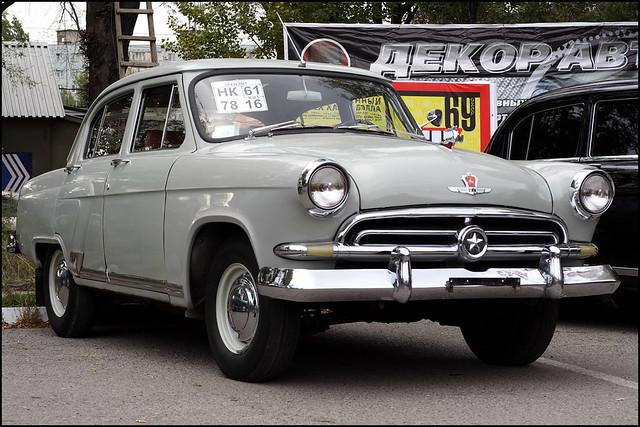 Gaz 21 volga first series 1956 1958