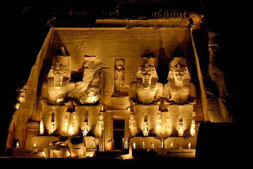 NIGHT Abu Simbel Great Temple Ramesses II