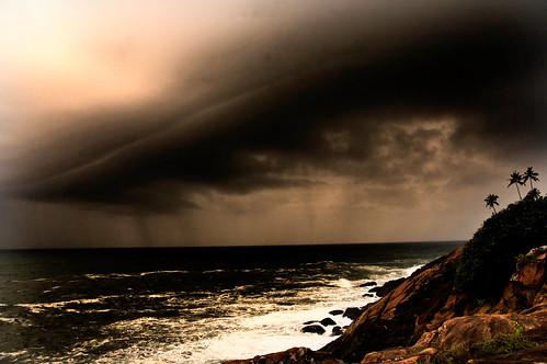 india storm beach keller kerala kovallam helenkeller