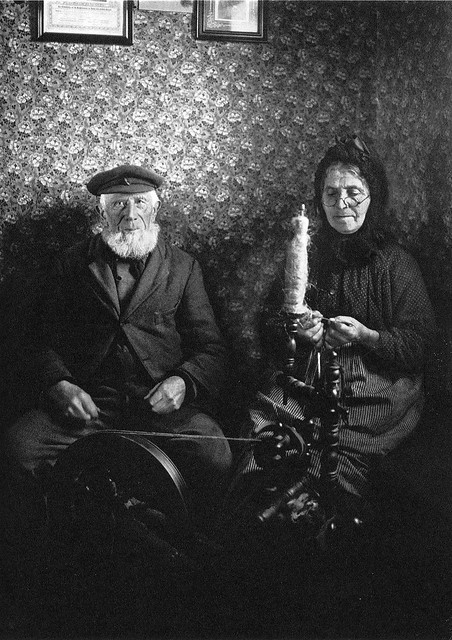 Portrait of an old couple, by August Sander
