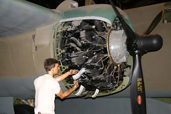 DOUGLAS A-20G Wright R-2600