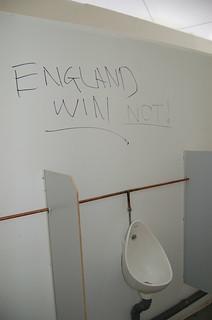 England win...NOT!