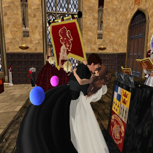 Wedding in Hogwarts Taylor and Kim tie the knot in Hogwarts