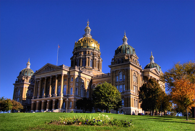 Iowa State Capitol Building Picture