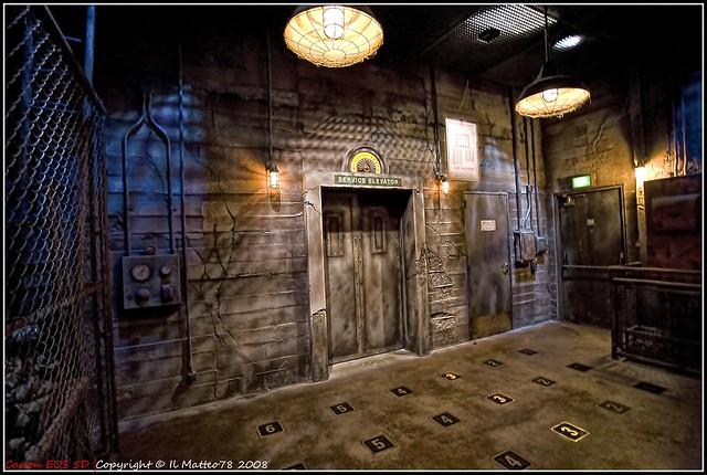 Disneyland Paris - Inside the Tower of Terror LucisArt ...Inside Tower Of Terror