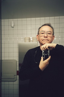 Olympus 35RC - self-portrait - 2008