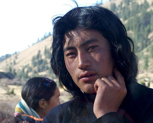 Route Sichuan-Tibet, avril 2007