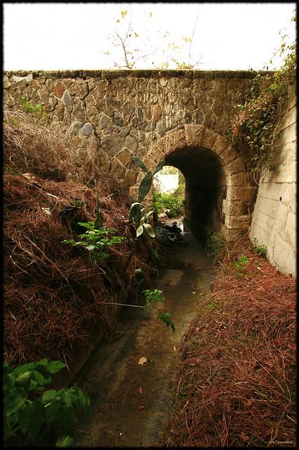 Tiny bridge, Evrychou village