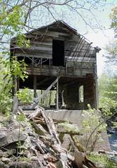 Ruins of an old mill at Parham Ontario