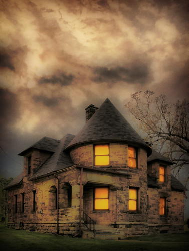 The old spooky house on West Main by bill.d