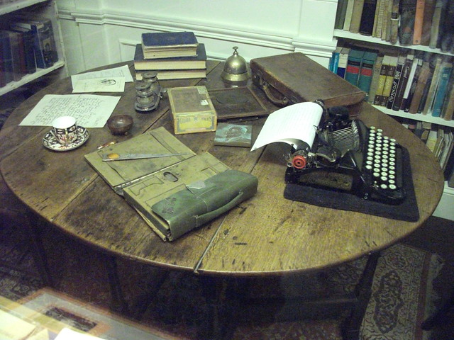 Joseph Conrads writing desk