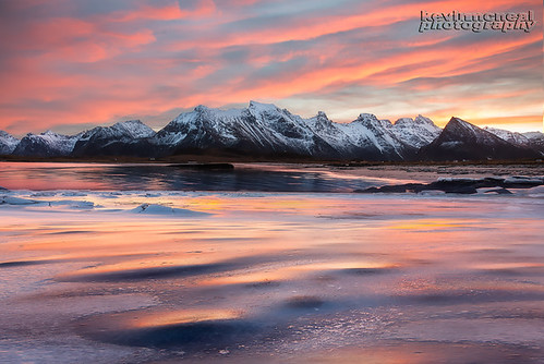 Sunrise Fever In The Lofoten Islands, Norway