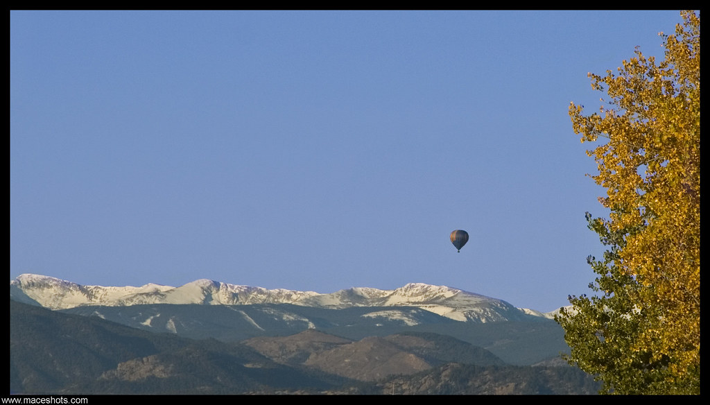 Floating Over the Front Range
