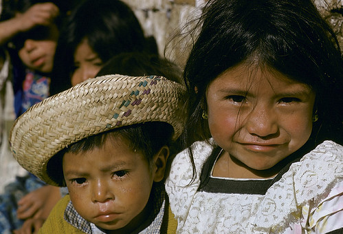 Portrait of children. Guatemala